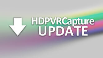 HDPVRCapture Software Update